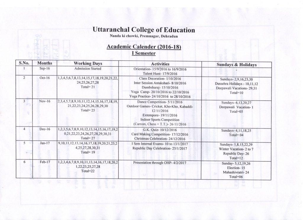 academic calendar066